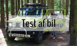 Test af forskellige outdoor biler