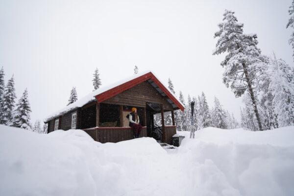 En uge i hytte og på fjeldski i Norge