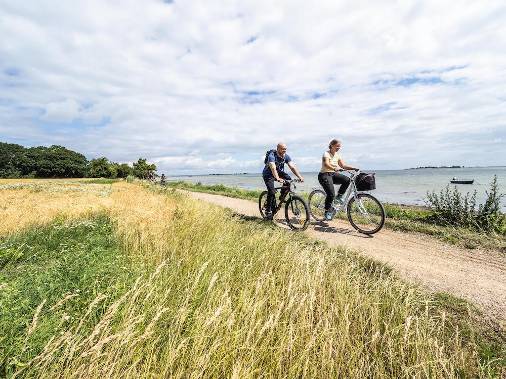 Cykelrute på Ærø