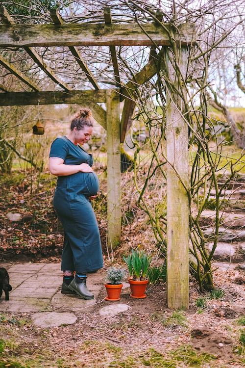 Gravid i naturen